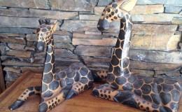 bali giraffe carvings