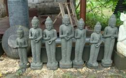 balinese women statues