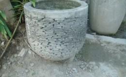 concrete sliced stone