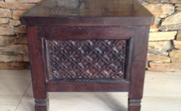 small balinese side table