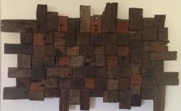 timber blocks art